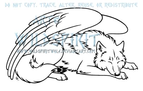 Gallery Anime Wolf Sleeping