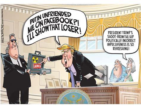 trump donald cartoons political cartoon president satire under america american editorial apprentice election comic should politics gannett china anti insults