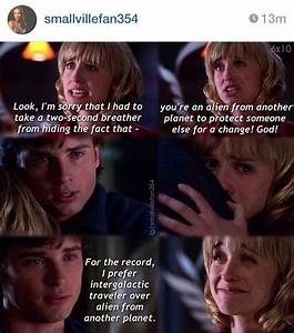 Smallville neve... Favorite Smallville Quotes
