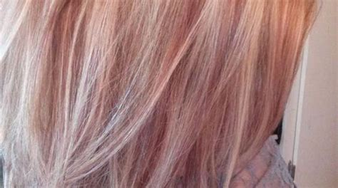 rose gold lowlights google search hair pinterest