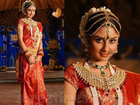 Bhanu Mehra In Indian Bridal Saree