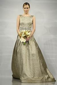 fall shades 5 stunning gold wedding gowns weddingelation With gold dresses for weddings