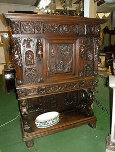 Meuble Secrétaire Ancien : meuble ancien brocante table de lit a roulettes ~ Teatrodelosmanantiales.com Idées de Décoration