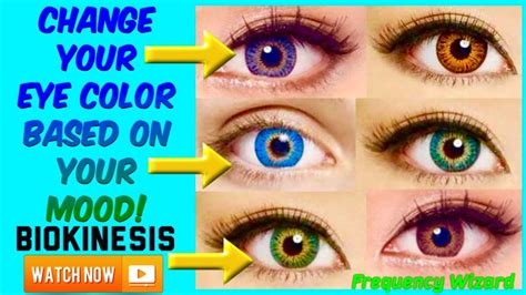can you change eye color change your eye color based on your mood experimental