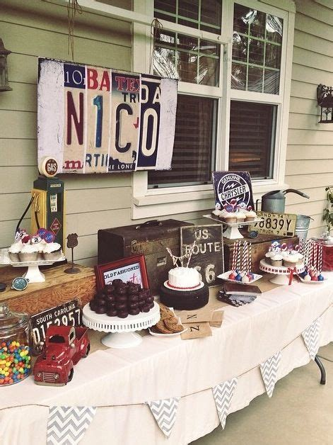 image result  car themed birthday party ideas