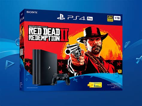 playstation  pro red dead redemption  bundle pack