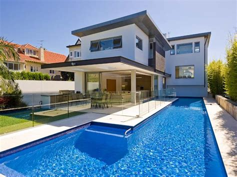 Pool And Patio Ideas by Outdoor Living Design With Pool From A Real Australian
