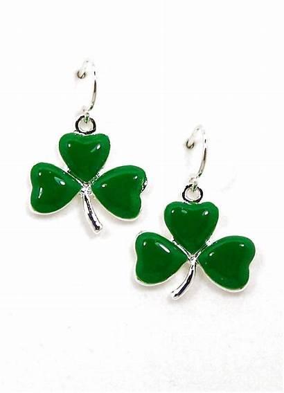 Earrings Shamrock St Patrick