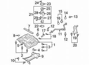 Mazda Cx-9 Fuel  Filter  Pump  Meter