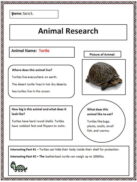 common core animal research graphic organizer