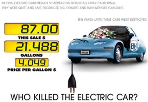 Who Killed The Electric Car by Who Killed The Electric Car Review Rambling Thoughts