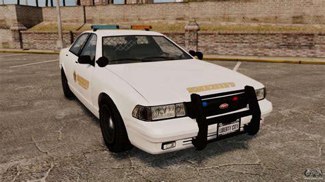 Gta V Police Vapid Cruiser Sheriff For Gta 4