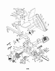 proform proform gr80 parts model 831215212 sears With exercise bike diagram