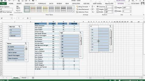 excel spreadsheet pivot table excel pivot table insert slicer greyed out table slicers