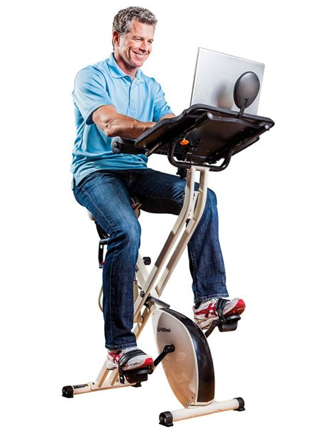 laptop workout desk and recumbent bike fitdesk x1 folding exercise bike with sliding desk