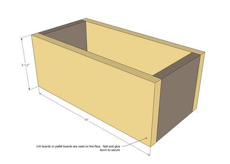 pallet storage boxes woodworking plans woodshop plans