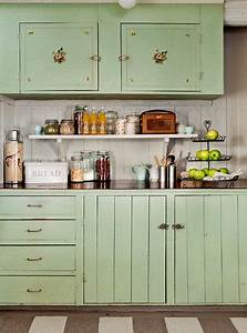 25 best ideas about vintage kitchen cabinets on pinterest With best brand of paint for kitchen cabinets with whole wall art