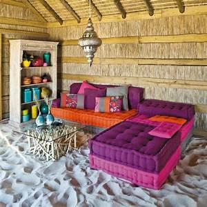 Salon Exterieur En Bois : le salon marocain de mille et une nuits en 50 photos ~ Premium-room.com Idées de Décoration