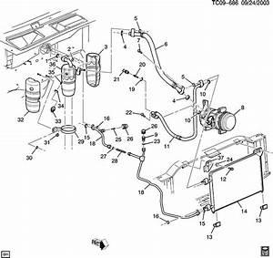 1999 C Condenser Rubber Insulator New 15012544 15044225 1563283