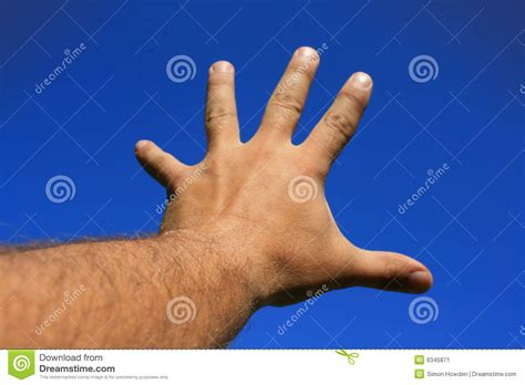 outstretched hand stock image image