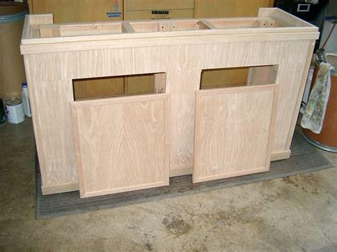 55 Gallon Stand diy oak aquarium cabinet cichlid forum diy 55 gallon