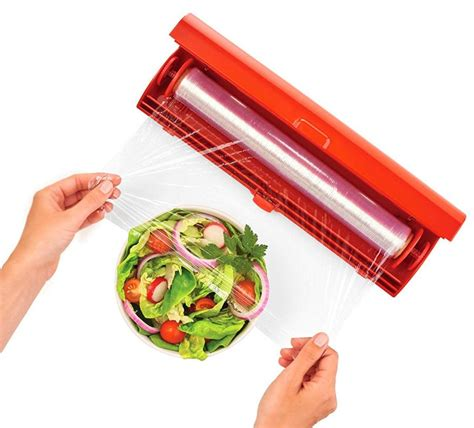 kuhn rikon fast wrap  easiest    plastic wrap