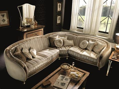canape angle baroque 13 modèles canapé d 39 angle de design élégant