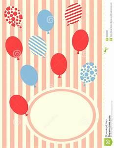 El Cumpleaños Hincha La Tarjeta De La Invitación Imagen de archivo Imagen: 25590961