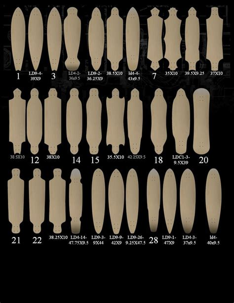 Styles Of Longboard Decks custom longboard skateboards ghost longboards skateboard