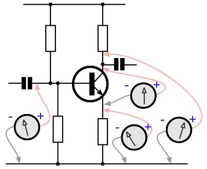 Multimeter Transistor Circuit Test Fault Finding