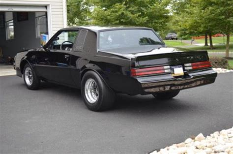 1987 Buick Grand National Parts For Sale by Purchase Used 1987 Buick Grand National In Pittsburgh