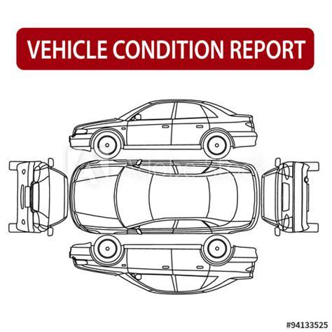Car Condition Report (vehicle Checklist, Auto Damage