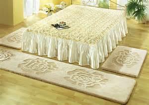 teppichboden schlafzimmer bettumrandung beige teppichboden umrandung bett schlafzimmer dekor flor boden