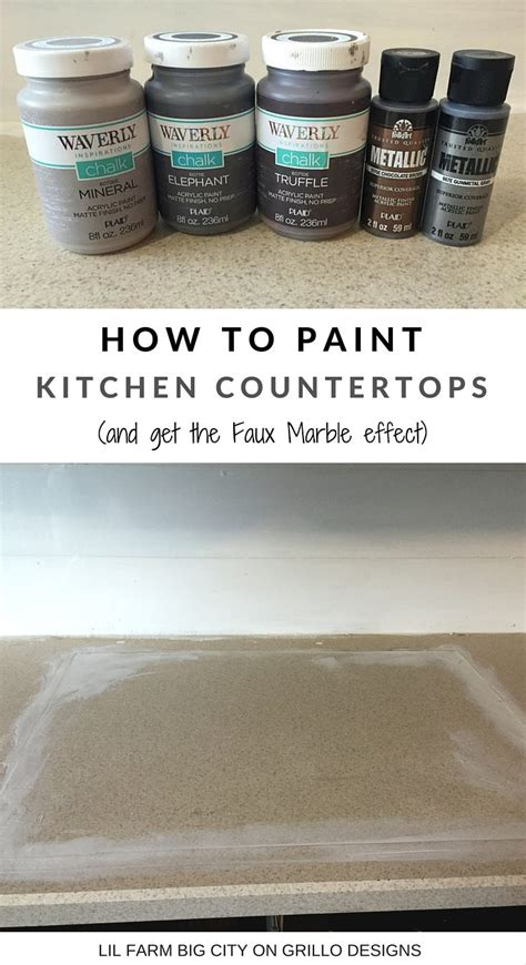 can you paint countertops with regular paint how to paint kitchen countertops