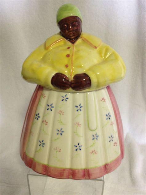 Very Rare Vintage Mann Mammy Cookie Jar   NR   Cookie jars