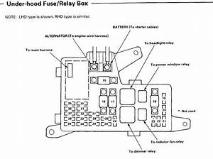 Internal Fuse Box Diagram For  U0026 39 97 Accord