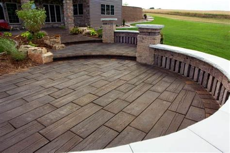 14 best images about sted concrete patios on