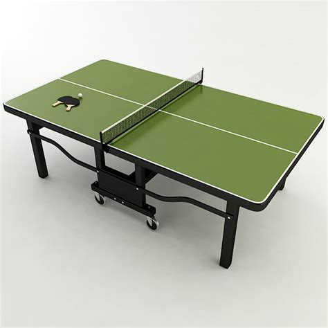 ping pong the original table ping pong table 3d model