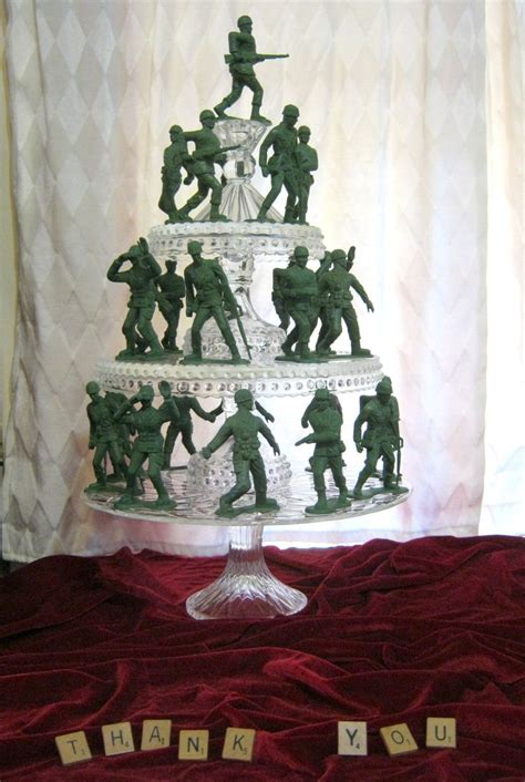 sweater surgery toy soldier army men christmas tree