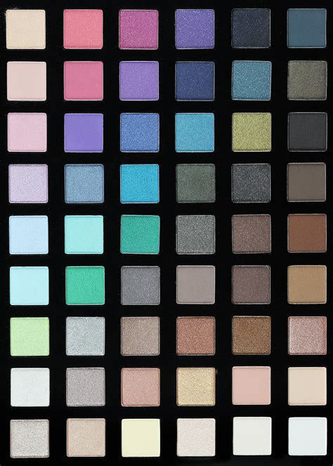 chroma color sephora chroma color eye palette review swatches