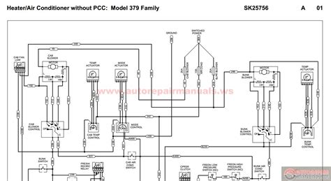 peterbilt 379 ac wiring diagram 31 wiring diagram images