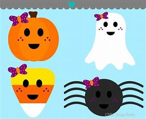 Cute Halloween Monster Clipart (74+)