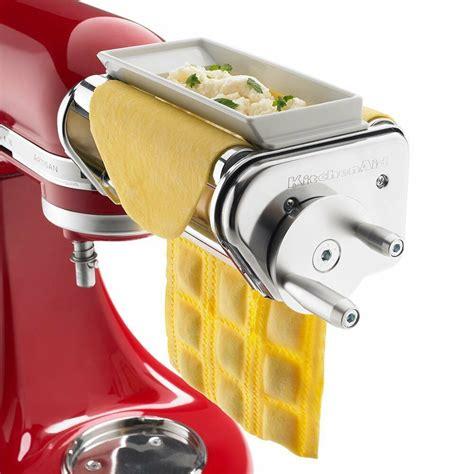 kitchenaid ravioli maker mixer attachment pasta wide