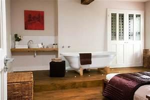 Parquet Flottant Chambre : parquet flottant conseils et id es pour sol de salle de bain ~ Melissatoandfro.com Idées de Décoration