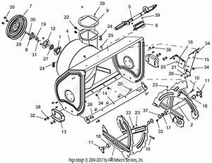 Ariens 921030  100000 - 149999  Deluxe 28 Parts Diagram For Auger And Housing
