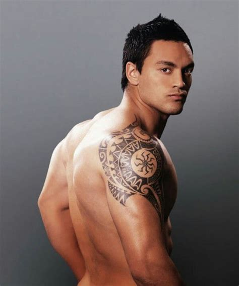 shoulder tattoos  men designs ideas  meaning