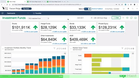 wealth management accounting software sage intacct