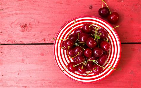wallpaper cherries fruits  lifestyle