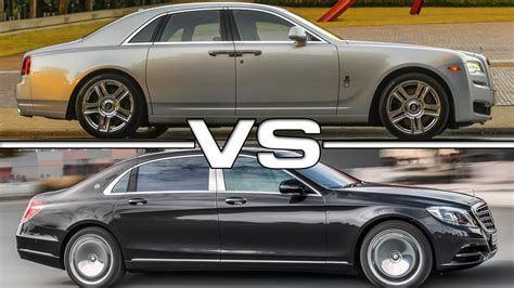 Rolls Royce Vs Maybach by 2015 Rolls Royce Ghost Series Ii Vs 2016 Mercedes Maybach