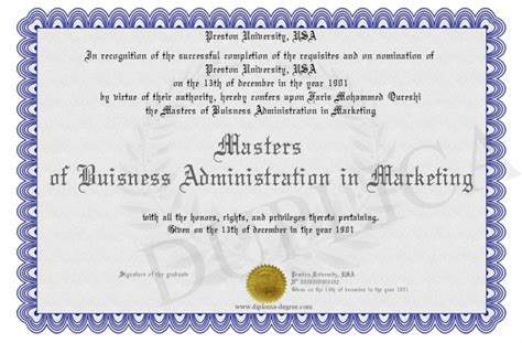 masters degree in marketing masters of buisness administration in marketing